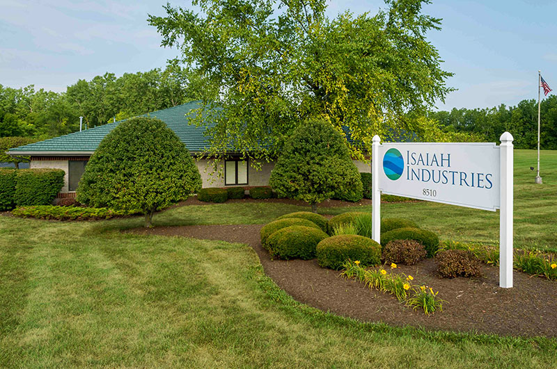 isaiah industries sign